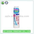 waterproof clear bottle self adhesive label sticker