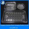 PP / PET / APET Plastic Food Trays, Biodegradable Biscuit Packaging Tray