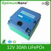 12V 30Ah lifepo4 electric wheelchair battry