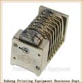 2014 topo perfeito numeração tipográfica máquina de venda quente