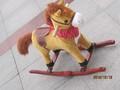 Petit jouet en plastique chevaux / plastique chevaux / en bois cheval à bascule