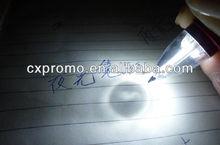 Promotional pen with LED light/Luminous LED pen with LOGO print
