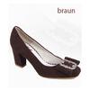 Dirndl shoes, women suede leather shoes trachten , Bavarian shoes ladies