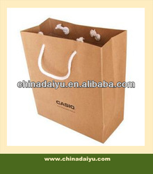 Hot Sale Brown Craft Paper Bags For Clothes Packing
