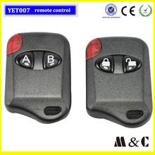 remote control door garage,rf transmitter 433,rf remote control transmitter YET007