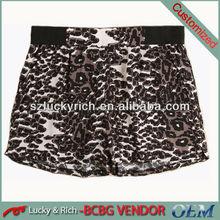 2014 China wholesale leopard print hot sexy girls short pants