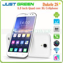 DAKELE Big Cola 2 2S MC002 Original Mobile Phone 5.3 Inch Big HD IPS Screen 1280*720 MTK6589T Quad Core 1.5GHz Android Cellphone