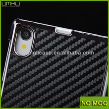 Carbon Fiber Hard phone Case Cover For Sony Xperia Z1 L39h