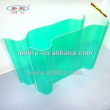 Sound insulation translucent fiberglass roof panels used as sound barrier / frp sheet