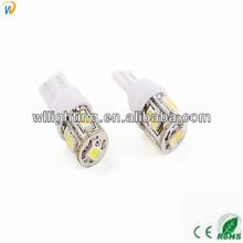 T10 916 W5W White 5 5630 SMD LED Auto Gauge Light Bulbs Lamps