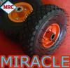 Detachable 10 inch Dental Rubber Wheels Small Size
