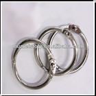 Metal Ring Clip For DIY Loose Leaf Photo Album Binding