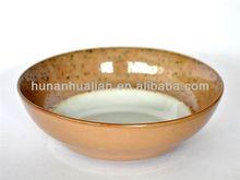 2014 newly developed ceramic reactive glaze bowl