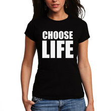 Wellcoda | Choose Life Retro Wham Fnacy Dress 90's 80's Funny Ladies Women T-Shirt NEW Top 100% Cotton Tee S-2XL Size