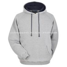 Hot sell plain dyed terry fleece cotton Unisex hoody