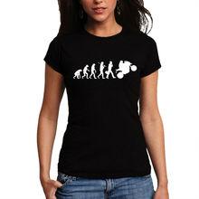 Wellcoda   Indian Retro Evolution Of Motorcycle Biker Funny Ladies Women T-Shirt NEW Top 100% Cotton Tee S-2XL Size