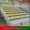 JY-706 indoor HDPE chair wood bleachers indoor athletic facility design