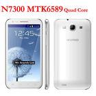 N7300+ MTK6589 Quad Core Android 4.1 8MP Dual Camera 1GB Ram 4GB Rom 5.7inch IPS GSM 3G WCDMA no brand smart phone