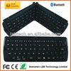Flexible folding wireless keyboard for iphone/ipad/tablet/PC/Laptop