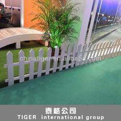 factory directly sale garden border decoration fence plastic mini fence