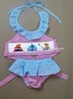 Wholesale Ice Princess smocked bikini for baby girls Summer 2014