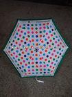 good printing colorful automatic aluminum 3 fold umbrella
