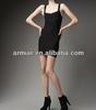lovely black evening dress sexy v-neck cocktail dress size xs AM151
