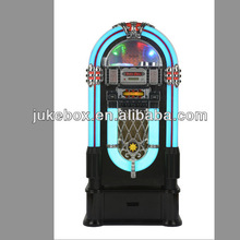 Retro Classic LED Jukebox (CD-Player, Radio, MP3, USB, SD-Kartenslot, Audio, Remote Control)
