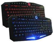 Genius K9 Keyboard Game Double LED Illuminated Wired USB