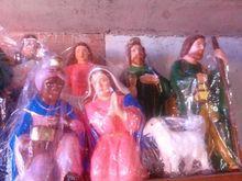 paper mache nativity