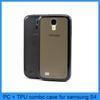 For Samsung Galaxy S4 TPU Cover Case Bumper Skin Silicone New i9500 PC Matte Clear