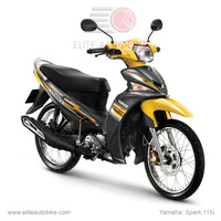Yamaha SPARK 115i-7 Yellow-Grey