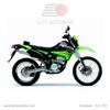 Kawasaki KLX 250-1 Green