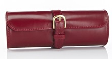 Travel Watch Roll Red