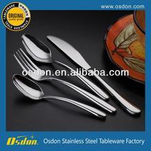 Texture stainless steel dinnerware set