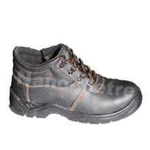 NMSAFETY cheap price PU injection split leather safety shoes/working shoes