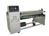 single shaft automatic gluing materials large rewinding machine