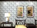 teto de bambu que cobrem as paredes para decoração de paredes com 3d wallpaper