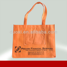 Promotional non woven purple eco friendly bag reusable shopping bags 100% manufacturer