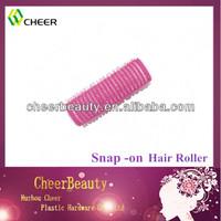 Salon perm rods self grip hair rollers Velcro On Roller
