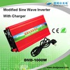 Factory offer 1000W Modified sine wave ups inverter battery charger battery