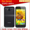 Original unlocked android phone zopo zp600+ quad core dual sim card low price brand mobile phone