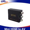 2014 mini Top sale hdmi to rca converter box,rca component cable