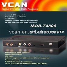Useful New full seg tv tuner Japan digital car isdb-t tv tuner cheap price hd digital cable tv set top box B-cas card for sale