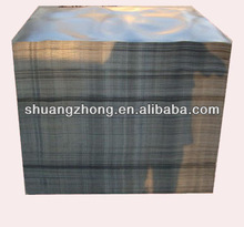 black plastic HDPE plastic slip sheets for container instead of traditional plastic pallets
