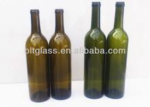 Jiangsu Manufacturer 26oz 750ml Glass Grape Wine Bottle