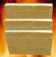 fire-proofing rock wool board/mineral fiber rock board/rock wool fiber board