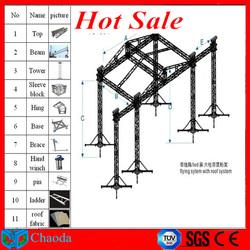300*300 mm 400*400mm aluminum stage light frame led light frame