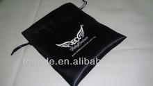 High quality drawstring satin lingerie bag