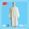 Nonwoven disposable lab coat,(CE/FDA/TUV)